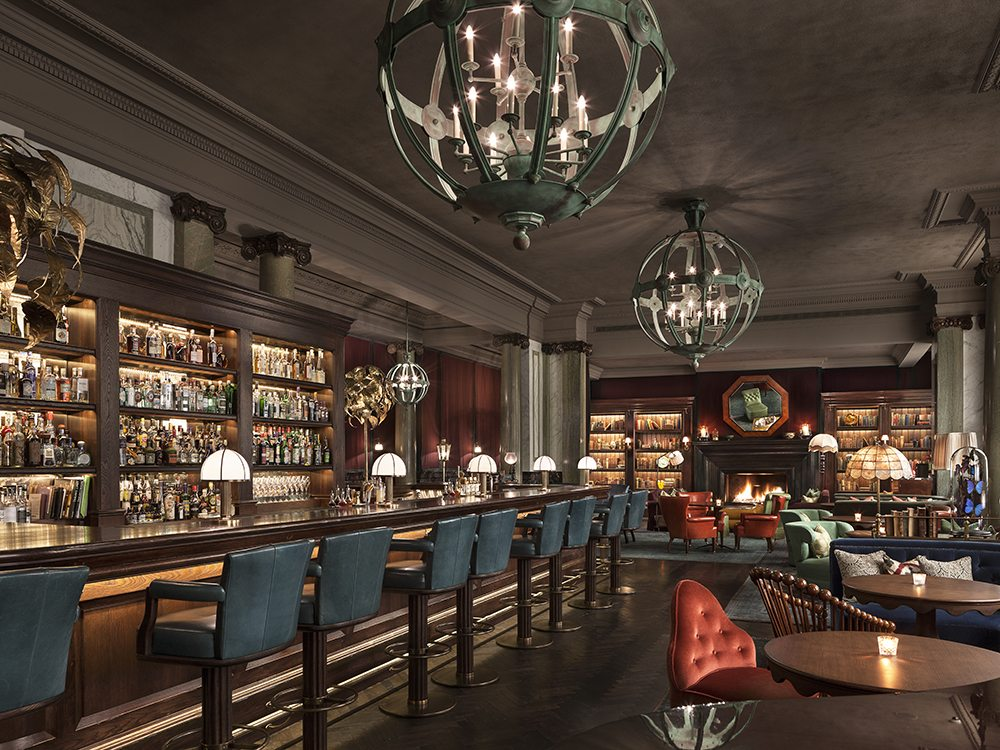 Rosewood hotel london uk tricon foodservice consultants - Bars for the house ...