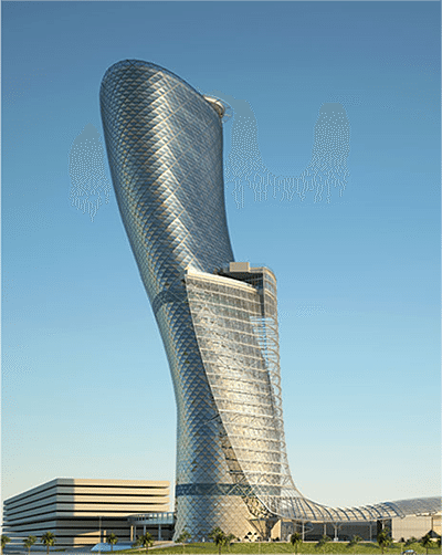 Andaz Capital Gate Tower Abu Dhabi