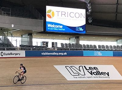 Tricon takeover the London Velodrome