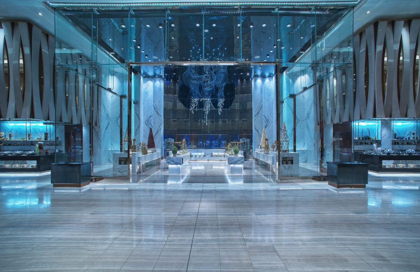 Grand Hyatt Dubai Ballroom Banqueting Servery Tricon