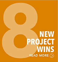 8 New Project Wins